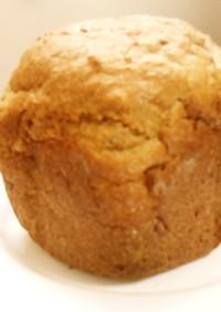 黒糖コーヒー味おからパン(0^^0)