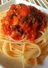 母のトマトソース♪