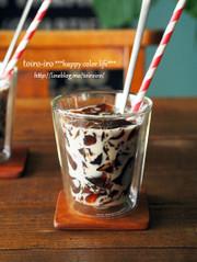 超簡単★クラッシュコーヒーゼリーミルクの写真