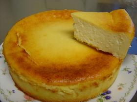 超簡単!豆腐のベイクドチーズケーキ