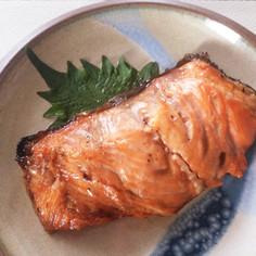 ☆簡単作り置き☆焼き鮭の味醂漬け