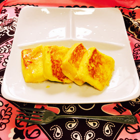 ☆家にある材料でカリふわフレンチトースト