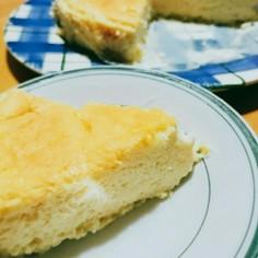 柚子茶で半熟♪ヨーグルトチーズケーキ