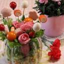母の日♡ブーケサラダ