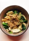 レンジで簡単!ちくわと小松菜の和物