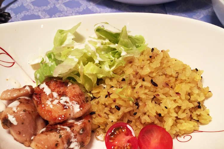 チキン オーバー ライス レシピ