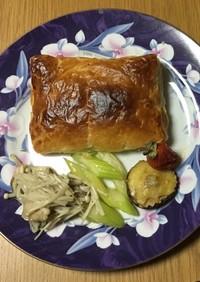 鯛の包みパイ