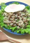 レタスと食べる納豆チャーハン