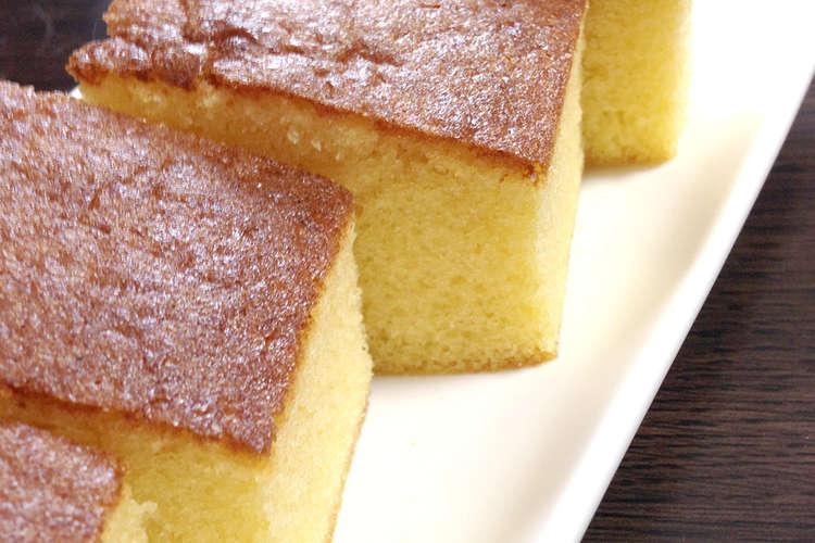 ミックス ホット レシピ ケーキ