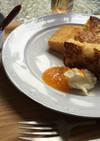 米粉パンのフレンチトースト