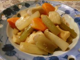 ♪美味しい!鶏肉里芋フキうど筍の簡単煮物
