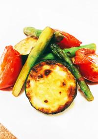 野菜たっぷり♡ズッキーニとトマトのマリネ