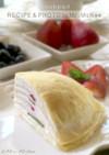 苺とキウイのミルクレープ・ヨーグルト風味