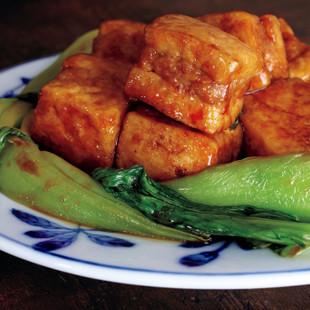 冷凍豆腐の角煮風