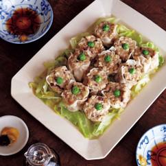 冷凍豆腐のシュウマイ