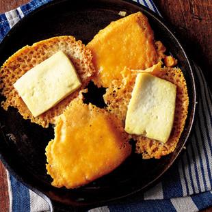 塩豆腐のチーズ焼き