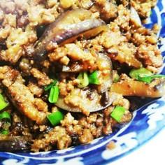 ご飯が進む★挽き肉となすの味噌炒め。