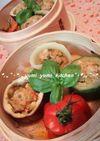 CookDoで野菜を☆スチームファルシー