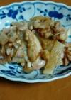鶏肉と大根の生姜炒め(減塩レシピ)