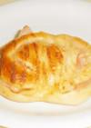 70分で作る ハム&マヨおやつパン
