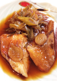 簡単☆冷凍赤魚の煮付け