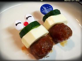☆お弁当に!ミートボールの彩りピック☆