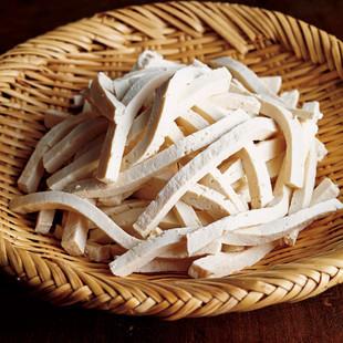 「麺」っぽくチェンジ!押し豆腐