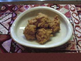 鶏つくねの煮物