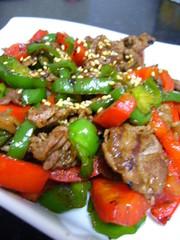 牛肉とピーマンの味噌炒め ~ご飯の友~の写真