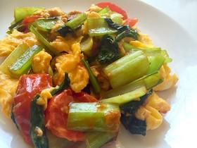 ❀小松菜とトマトの中華炒め❀