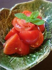 トマトのナンプラーマリネの写真