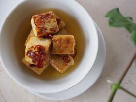 【ベジ】豆腐のアヒージョ