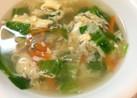 レタスの卵ふんわりスープ