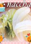 レタスと玉ねぎの味噌汁♡