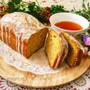 キャラメルバナナの♡蜂蜜パウンドケーキ