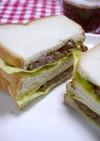 簡単!ローストビーフサンドイッチ