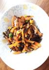常備菜⁂ひじきのココナッツオイル炒め