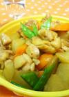 ❁簡単煮物❁鶏大根のコンソメ醤油煮