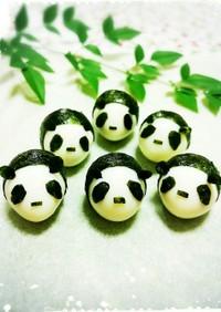 うずらたまごパンダの作り方♪