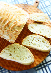 スペルト小麦の老麺フランス生地♬