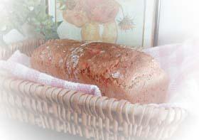 手軽でヘルシー!レンジ発酵で全粒粉と赤ピーマンのパン