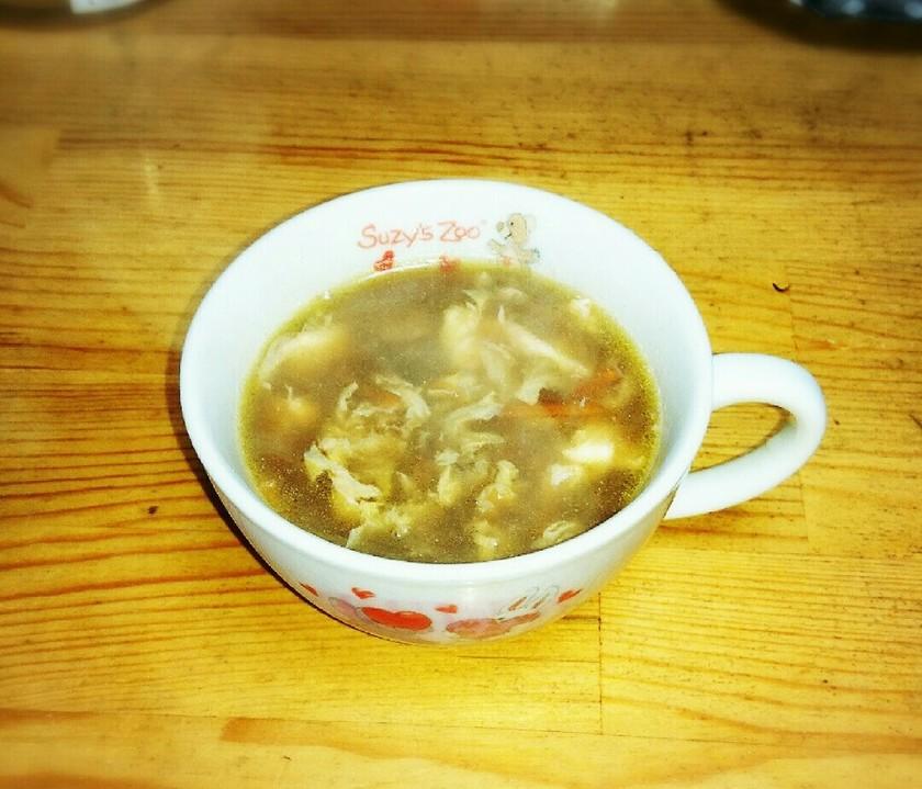 中華風アレンジ小豆スープ