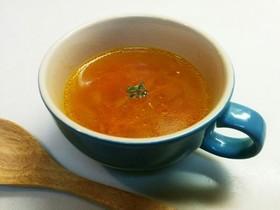 簡単ヘルシー!玉ねぎと人参の生姜スープ