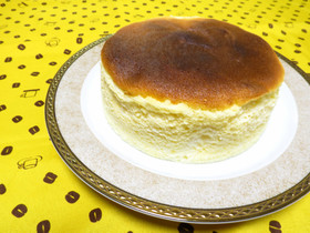 【簡単】ふわふわスフレチーズケーキ♪
