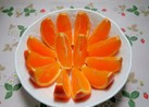食べやすい!!オレンジの切り方(^ー^)