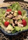 ⭐️水晶鶏とアボカドの塩昆布サラダ