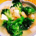 むきエビと豆腐の優しい中華