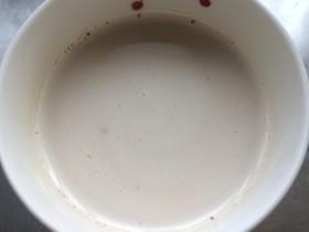 インスタントコーヒーでカフェオレ