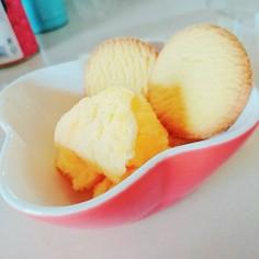 簡単♡材料2つのアイスクリーム