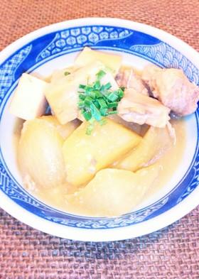 超簡単✳鮭缶と大根の煮物✳甘酒で煮ました